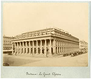 France, Bordeaux, le grand théâtre
