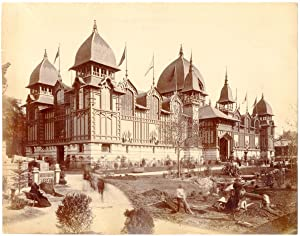 France, Paris, le palais des colonies