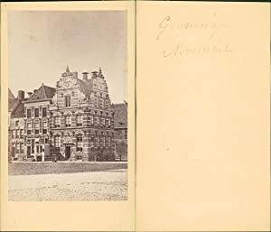 Pays-Bas, Groningue, Goudkantoor, grand place