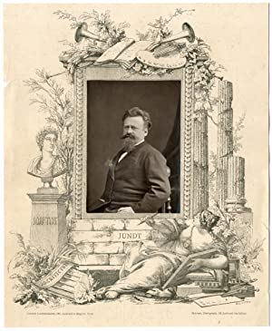 Galerie Contemporaine, Jundt Gustave (1830 - 1884), peintre, dessinateur, illustrateur et graveur...