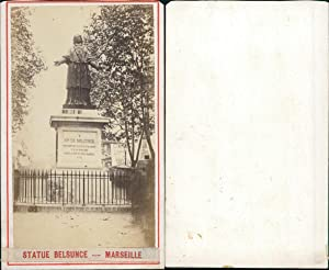 France, Marseille, Statue Belsunce