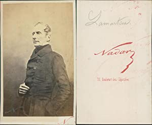 Nadar, Paris, Lamartine