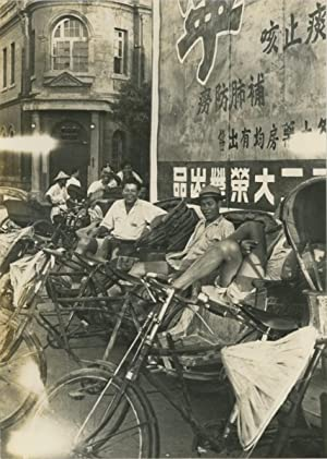 Asie, vélo-taxis, 1950