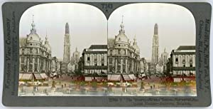 Stereo, Keystone View Company, The Metropolis and Seaport of an Industrious Nation, Antwerp, Belgium