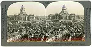 Stereo, Keystone View Company, Underwood & Underwood, Manificent Palace of Justice, Southeast fro...