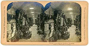 Stereo, Belgique, Bruxelles, Catacombes, 1901
