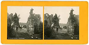 Stereo, Belgique, Ruines d'Orval, Notre-Dame, circa 1900
