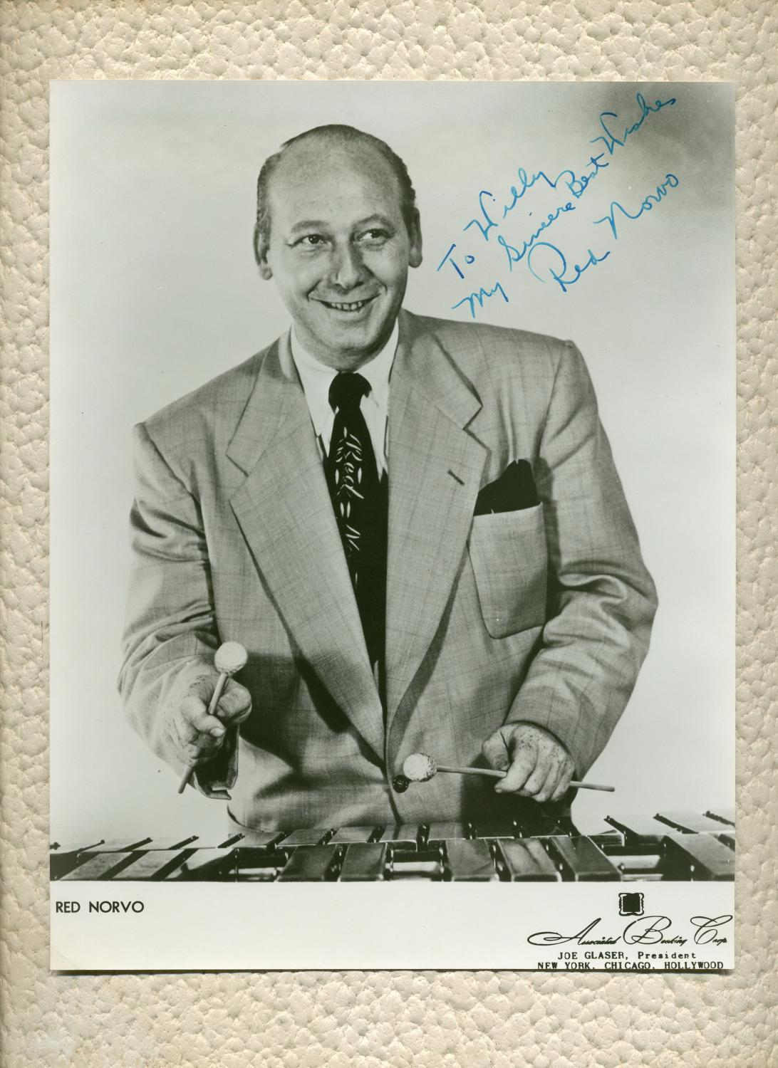 Red_Norvo_19081999__Signed_large_photo_Red_Norvo_19081999__Jazz_vibraphonist_Bon