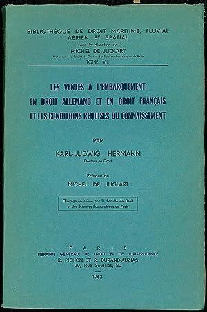 LES VENTES À L'EMBARQUEMENT EN DROIT ALLEMAND: HERMANN (Karl-Ludwig)
