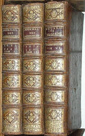 JOURNAL DES PRINCIPALES AUDIENCES DU PARLEMENT. T.: DU FRESNE (Jean),