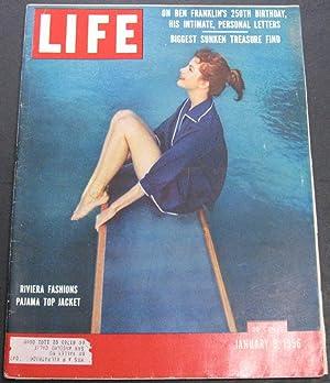 Life Magazine January 9, 1956: Luce, Henry