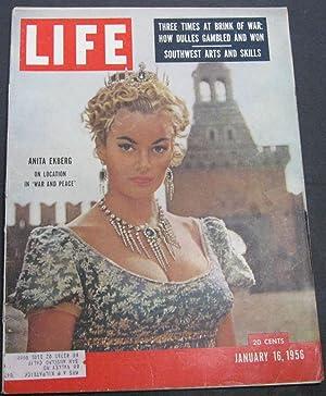 Life Magazine January 16, 1956: Luce, Henry