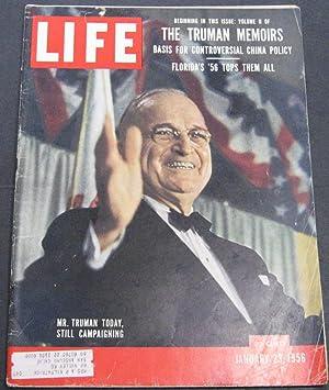 Life Magazine January 23, 1956: Luce, Henry
