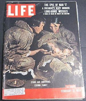 Life Magazine February 27, 1956: Luce, Henry