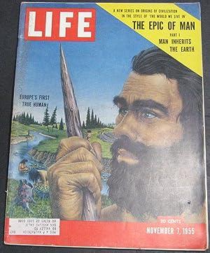 Life Magazine November 7, 1955: Luce, Henry