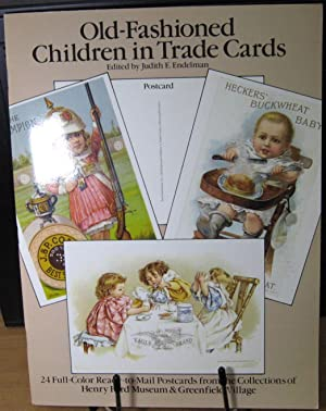 Old-Fashioned Children in Trade Cards