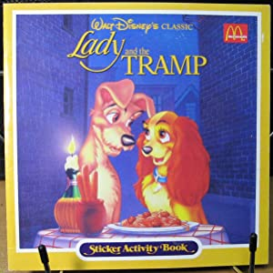 Lady and the Tramp, Sticker Activity Book
