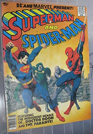 DC and Marvel Present Supperman and Spiderman
