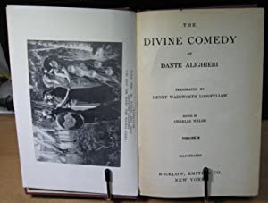 The Divine Comedy of Dante Alighieri Volume II: Welsh, Charles Edited By