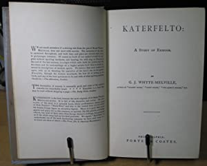 Katerfelto: A Story of Exmoor: Whyte-melville, G. J.