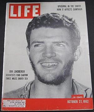 Life Magazine October 27, 1952: Luce, Henry R.,