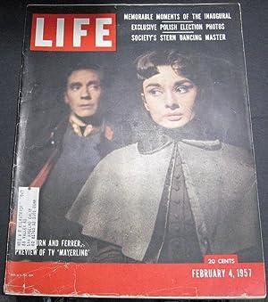 Life Magazine February 4, 1957: Luce, Henry R.,