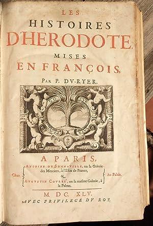 Les Histoires d'Herodote mises en Francois: HERODOTUS], . DU-RYER, P, Translator