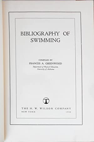Bibliography of Swimming: SWIMMING],