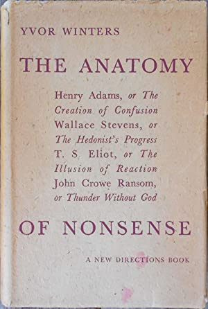 The Anatomy of Nonsense: WITNERS, Yvor