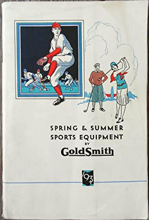 Spring & Summer Sports Equipment by Goldsmith: TRADE CATALOGUE],