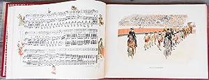 A Los Toros. Album compuesto de 28 acuarelas originales des reputado pintor de escenas taurinas Don...