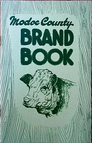 Modoc County Brand Book: CATTLE BRANDS],
