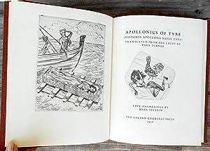 Appolonius of Tyre. Historia Apollonii Regis Tyri: APPOLONIUS,