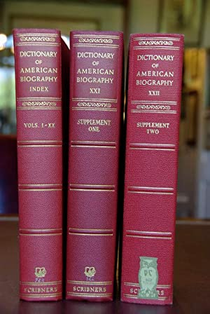 Dictionary of American Biography Published under the Auspices of American Council of Learned ...
