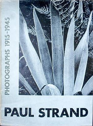 Paul Strand Photographs 1915-1945: STRAND, Paul] .