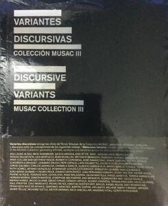 Discursive Variants Volume 3 Musac Collection Iii Perez Rubio Agustin