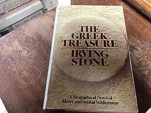 The Greek Treasure: Irving Stone
