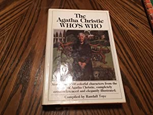 The Agatha Christie who's who by Toye,: Toye, Randall (re: