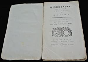 Antique Book-WINDHANDEL-COMMERCE-SPECULATION-ECONOMY-Egerding-1829