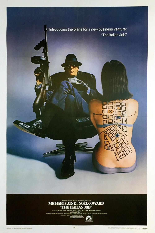 The Italian Job - Original Movie Poster