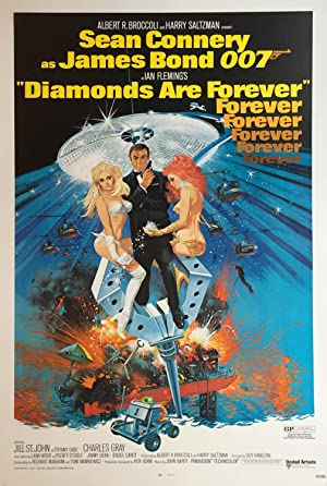 Diamonds are Forever - US original release one sheet movie poster