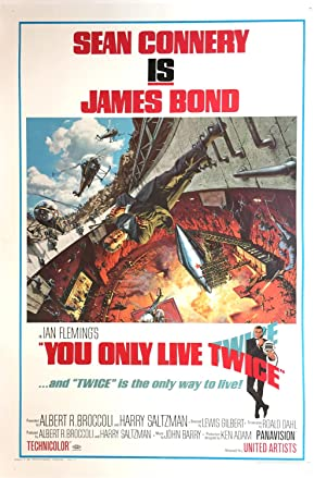 Original Vintage Film Poster - You Only Live Twice