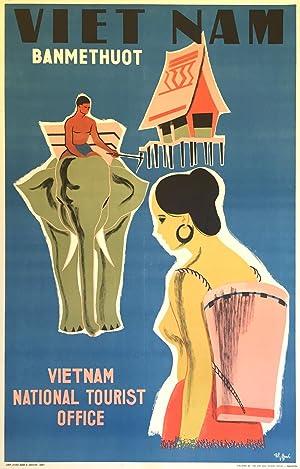 Original Vintage Travel Poster - Ban Me: Tou Oanh