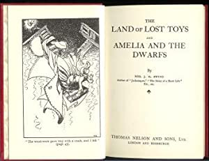 The land of lost toys, and Amelia and the dwarfs.,: Ewing, Juliana Horatia Gatty:
