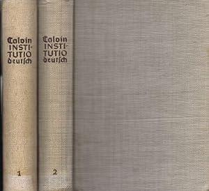 Unterricht in der christlichen Religion. Bd. I und Bd. II (beinhaltet 1., 2. und 3. Buch)., ...