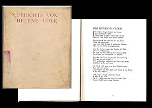 Gedichte von Helene Vök.,: Völk, Helene: