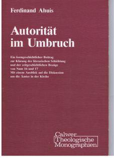 Autorität im Umbruch : eine formgeschichtl. Beitr. zur Klärung d. literar. Schichtung u.d. ...