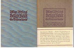 Selige Reise : Ein Terzinenkreis ; [Durch Raum u. Zeit]., Anbei: O-Broschur einer Verlagsleseprobe ...