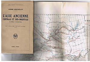 L'Asie Ancienne. Centrale et Sud- Orientale - d'Apres Ptolomee., [Bibliotheque Geographique...