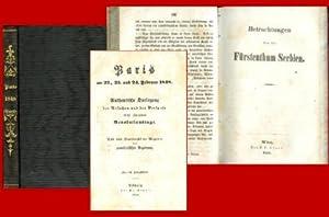 1. - Paris am 22., 23. und 24. Februar 1848. Authentische Darlegung der Ursachen und des Verlaufs ...